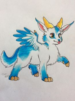Fluffy Dragon by Tiger1609
