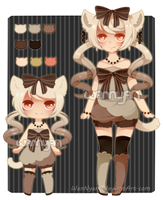 Choco Nekomimi Auction [CLOSED] by WanNyan