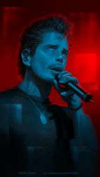 Chris Cornell by Keith-DF