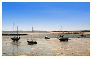 Low Tide on Holy Island by Baby-Shambles