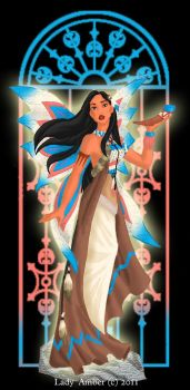 Pocahontas  Fairy by LadyAmber