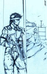 MGS- Shadow Moses by Dane-of-Celestia
