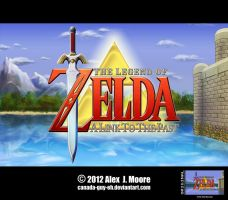 The Legend of Zelda: A Link to the Past by Canada-Guy-Eh