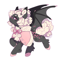 Custom Design ~ PeachyPeaBee by LunarAdopts