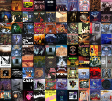 The Wall of True Metal by megadeth425