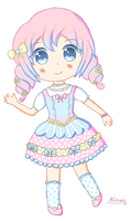 .: Pastel Lolita adopt #3 [Closed] :. by Domovina