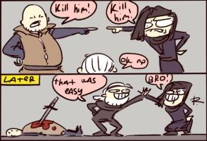 The Witcher 3, doodles 142 by Ayej