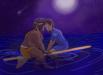 Hance on the Ocean by 34choco