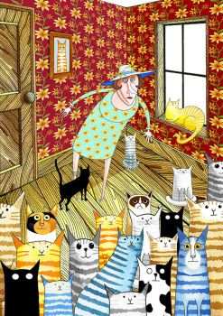 Cat Lady by scratchproductions