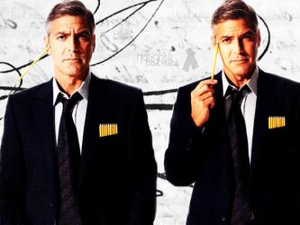 George Clooney by Holylulu