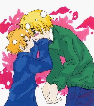 England and America colored by TheEndxTypeANIME