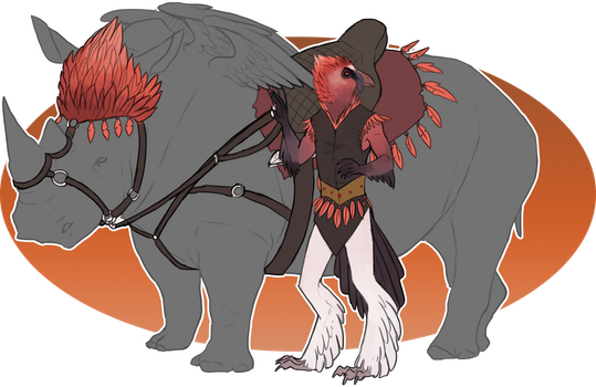 Commission: Rider and tack by Brissinge