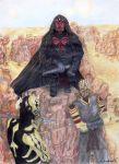 Maul, Savage, Feral by wholivesinfantasy