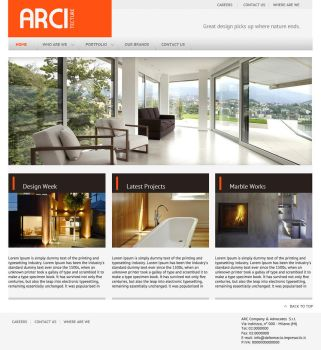 Architecture site layout (minimalistic design) by mangion