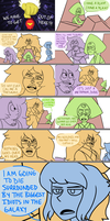 Steven Universe X Guardians of the Galaxy by sitton-somewhere