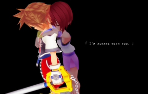I'm always with you. by HeartlessKairi