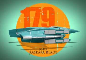 No.140 - JC-179 Kaskara Blade by kozzzlove