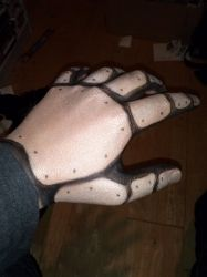 Steampunk Robot Makeup (Hand) by Happy-Pappy