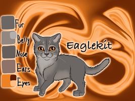 Eaglekit of WindClan - Fire and Ice by Jayie-The-Hufflepuff
