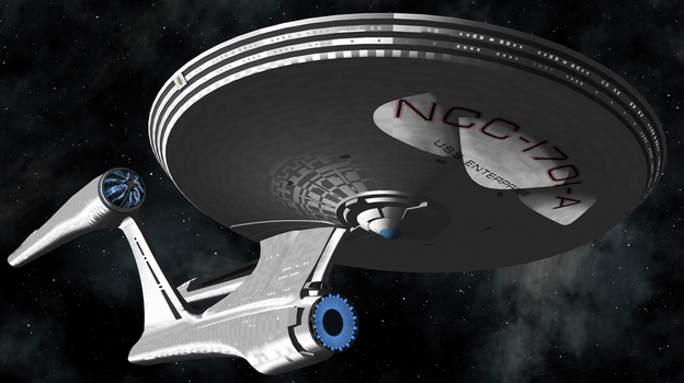 USS Enterprise NCC-1701-A by Terranimperial