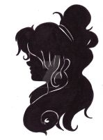 Girl's Silhouette by Beautiful-Dreamer602