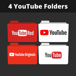 Youtube Folders by iNeoCats