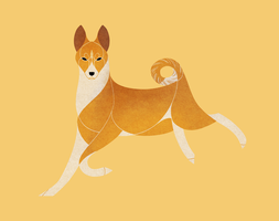 Year of the Dog - Basenji by Kelgrid