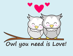 Owl love by cicabogaj