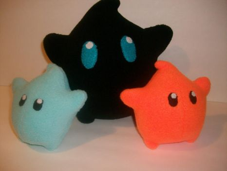 Polari Luma Plush and some Babies by ZombieBunnySlaya