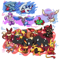 PKMNation :: -mostly- Fluffy clutches -ONE LEFT- by MahoxyShoujo