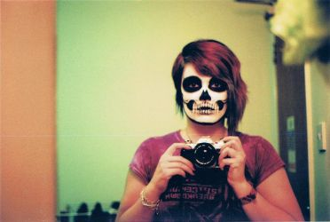 Skull on Film by FlutStop