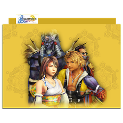 Final Fantasy X Group Folder 01 by mylochka