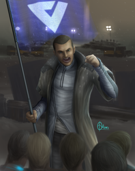 Detroit Become Human: Markus by Ainogommon