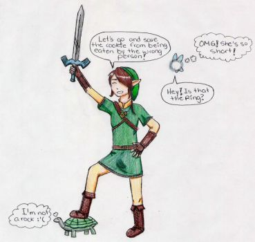 Link replacement by theclubofzelda