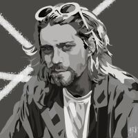 Kurt Cobain by ARandomUserl-l