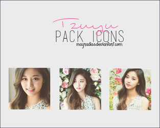 Tzuyu - Icons by mayradias
