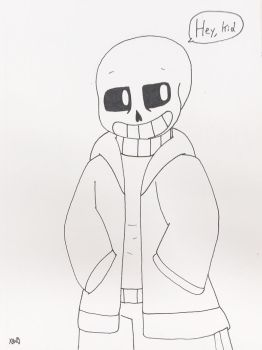 Sans the Skeleton  by ShadAmyfangirl129