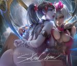 Widowmaker X Elise .yuri tag. by sakimichan