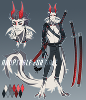 Cyborg Demon | Adoptable AUCTION | closed | by BeSSeB