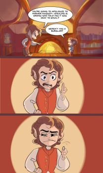 Bilbo and Frodo: It Runs in the Family by StartingMelodrama