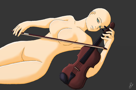 Girl and her Violin [[Base]] by DarkYuki16