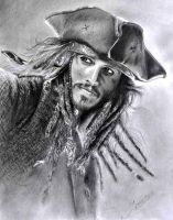 Jack Sparrow by sandrocosta