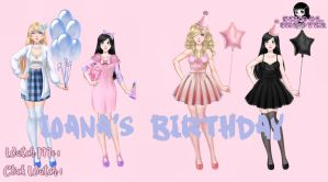 Ioana's Birthday PACK by School-shooter by School-shooter