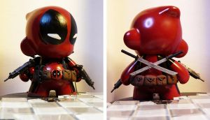 The Munny with the Mouth by Meagan-Marie