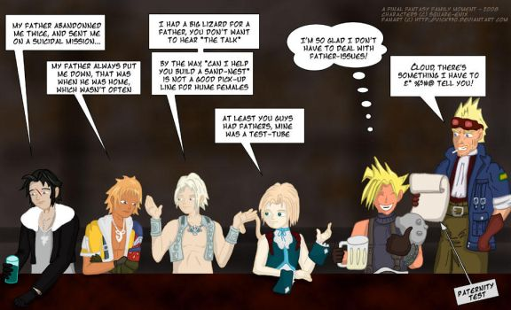 Final Fantasy Family Moment 04 by vick330