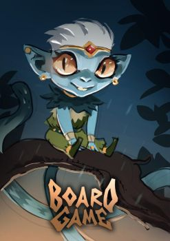 Board Game Character by ALB1NO