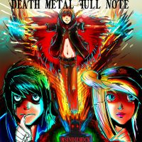 Death Metal Full Note: Cover by MsIndieRock