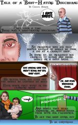 Tale of a Babyhating Douchebag by CrystalsMuse