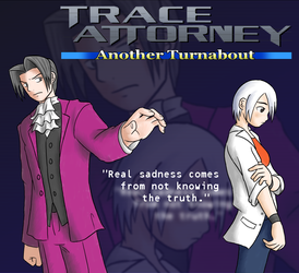 Trace Attorney poster by GreenMage