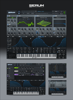 Serum VST GUI by PureAV